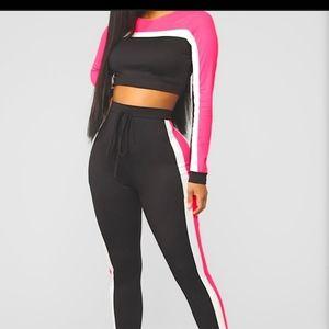 Fashion Nova Legging Set Size 2x